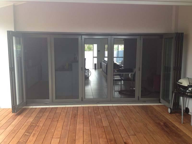 Cline doors utility building custom short door for Bi fold screen doors