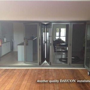 Crimsafe Bifold Door