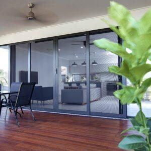 Crimsafe Classic back deck doors