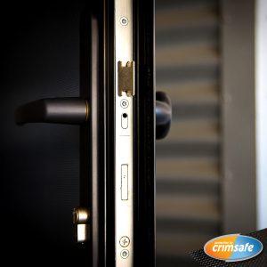 Crimsafe's patented anti-theft lock system