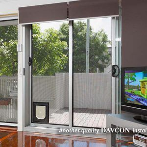 Crimsafe Sliding Security Screen Door