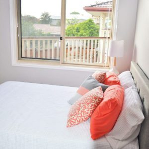crimsafe security screen installed on bedroom windows
