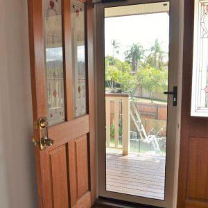 Crimsafe Hinged Door