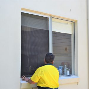 Crimsafe security screen installation