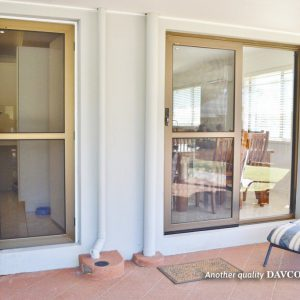 Hinged Crimsafe Door and Sliding Door