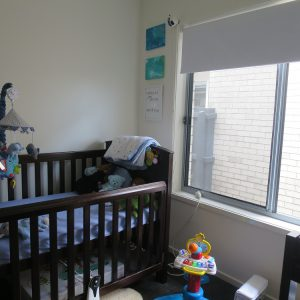 Crimsafe security screens installed in child's room on windows