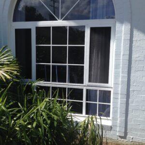 White Crimsafe Ultimate Window